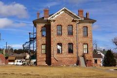 De Bibliotheek van de Provincie van het park Stock Foto