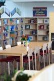 De bibliotheek van de school Stock Foto