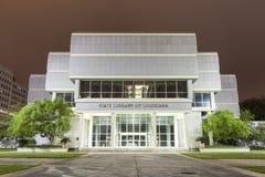 De Bibliotheek van de staat van Louisiane in Baton Rouge stock afbeelding