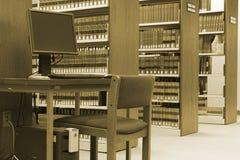 De Bibliotheek van de wet Royalty-vrije Stock Afbeeldingen