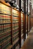 De bibliotheek van de wet Stock Foto