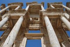 De Bibliotheek van Efes Stock Foto's