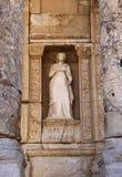 De bibliotheek van Ephesus Stock Foto's
