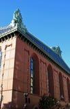 De Bibliotheek van Harold Washington in Chicago Stock Foto's