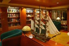De Bibliotheek van het schip Stock Afbeeldingen