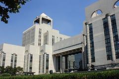 De Bibliotheek van Shanghai Royalty-vrije Stock Fotografie