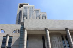 De Bibliotheek van Shanghai Royalty-vrije Stock Afbeeldingen