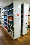 De Bibliotheek van Universty Stock Afbeeldingen