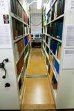 De Bibliotheek van Universty Stock Foto