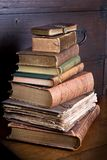 De bibliotheekstapel van Pmd Stock Foto's
