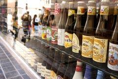 De bieren van België stock foto
