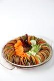 De Bietenwortel gesneden besnoeiing van de saladekomkommer Royalty-vrije Stock Fotografie