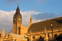 De Big Ben #12 Royalty-vrije Stock Afbeeldingen
