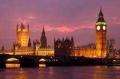De Big Ben Royalty-vrije Stock Afbeeldingen