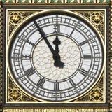 De Big Ben - 5 Minuten aan 12 Royalty-vrije Stock Fotografie