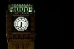 De Big Ben bij nacht Stock Fotografie