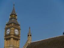 De Big Ben, de wereldwijd gekende klok. Stock Foto