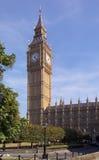 De Big Ben en de Huizen van het Parlement Stock Afbeelding
