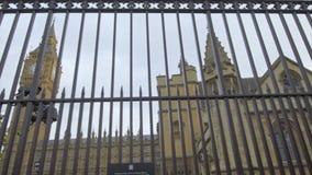 De Big Ben en de Huizen van het Parlement stock video