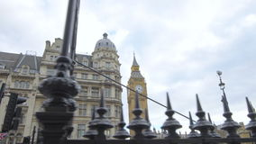 De Big Ben en de Huizen van het Parlement stock videobeelden