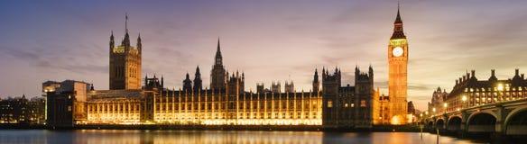 De Big Ben en Huis van het Parlement Royalty-vrije Stock Afbeeldingen