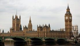 De Big Ben en Huizen van het Parlement Stock Foto's