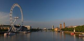 De Big Ben en Huizen van het Parlement in Londen Royalty-vrije Stock Foto's