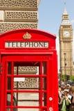 De Big Ben en Telefoon stock foto