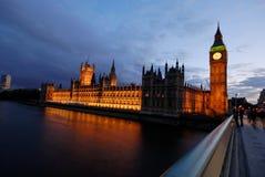 De Big Ben, Huis van het Parlement 2 Royalty-vrije Stock Afbeelding