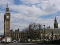 De Big Ben, Huis van het Parlement Royalty-vrije Stock Fotografie
