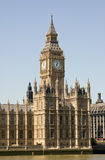 De Big Ben, Huizen van het Parlement, Londen Stock Foto's