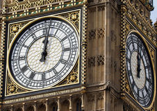 De Big Ben Londen Stock Afbeeldingen
