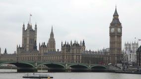De Big Ben in Londen stock video