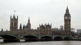 De Big Ben in Londen stock footage