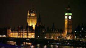 De Big Ben in Londen stock videobeelden