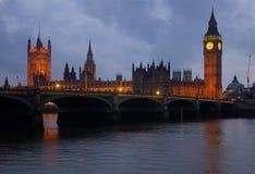 De Big Ben, Londen Royalty-vrije Stock Afbeelding