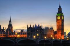 De Big Ben, Londen Stock Fotografie