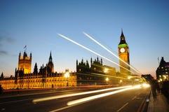 De Big Ben, Londen Stock Afbeelding