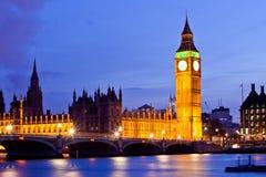 De Big Ben Londen Royalty-vrije Stock Fotografie