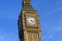 De Big Ben in Londen Royalty-vrije Stock Foto's