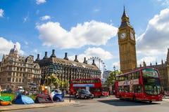 De Big Ben in Londen Royalty-vrije Stock Foto's