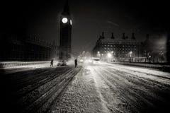 De Big Ben in Londen Stock Afbeeldingen