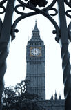 De Big Ben in Londen. Stock Afbeelding