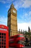 De Big Ben Londen Royalty-vrije Stock Foto's