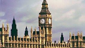 De Big Ben Londen stock footage