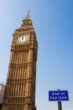 De Big Ben. Londen. Engeland Royalty-vrije Stock Afbeeldingen