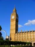 De Big Ben, Londen, Engeland Royalty-vrije Stock Afbeeldingen