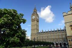De Big Ben - Londen, Engeland Stock Afbeeldingen