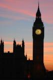 De Big Ben, Londen, Engeland Royalty-vrije Stock Afbeelding