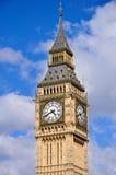 De Big Ben in Londen, Engeland Stock Afbeeldingen